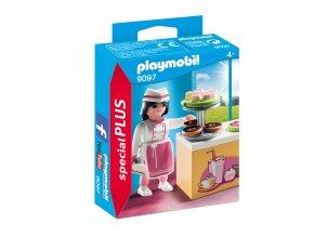 Playmobil 9097 Cukrářka s kuchyňkou