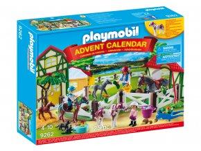 Playmobil 9262 Adventní kalendář Koňská farma