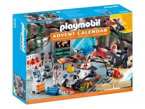 Playmobil 9263 Adventní kalendář Top Agenti - dílna