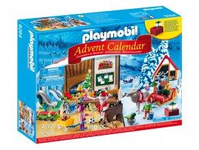 Playmobil 9264 Adventní kalendář Santa Claus a jeho dílna