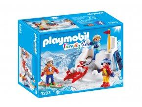 Playmobil 9283 Sněhová bitva