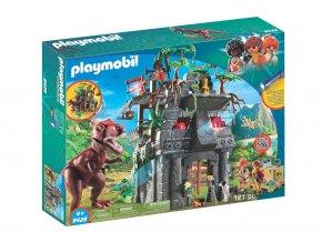 Playmobil 9429 Základní tábor a T-Rex