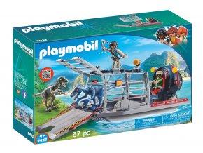 Playmobil 9433 Vznášedlo s klecí na dinosaury
