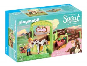 Playmobil 9480 Koňský box - Abigail & Boomerang
