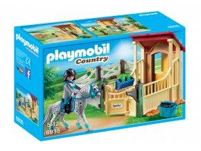 Playmobil 6935 Box pro koně Appaloosa