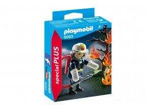 Playmobil 9093 Hasič s hořícím stromem