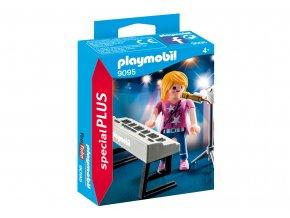 Playmobil 9095 Zpěvačka u klavíru