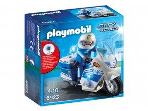 Playmobil 6923 Motohlídka s LED majáky