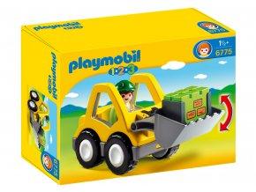 Playmobil 6775 Čelní nakladač 1.2.3