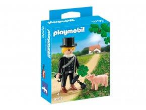 Playmobil 9296 Kominík s prasátkem pro štěstí