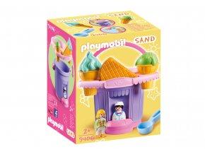 Playmobil 9406 Sada na písek - Zmrzlinářství