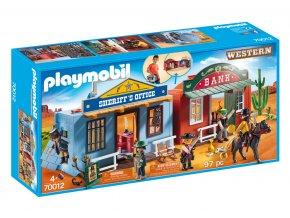 Playmobil 70012 Přenosné westernové městečko