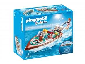 Playmobil 9428 Motorový člun s podvodním motorem