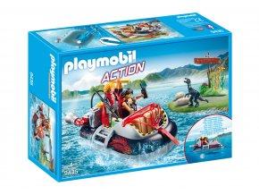 Playmobil 9435 Vznášedlo s podvodním motorem