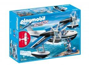 Playmobil 9436 Policejní hydroplán