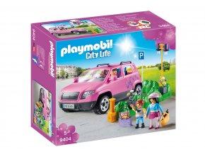Playmobil 9404 Rodinné auto s parkovacím místem