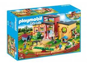 """Playmobil 9275 Hotel pro zvířátka """"Tlapka"""""""