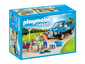 Playmobil 9278 Pojízdný salon pro psy