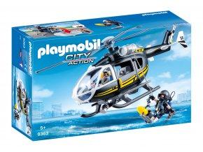 Playmobil 9363 Vrtulník speciální jednotky