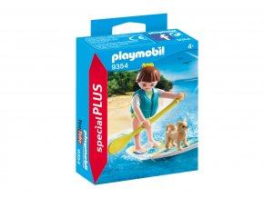Playmobil 9354 Dívka s paddleboardem
