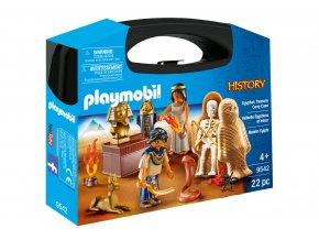 Playmobil 9542 Přenosný box velký - Egyptský poklad
