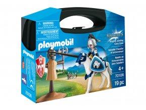 Playmobil 70106 Přenosný box malý - Rytířský souboj