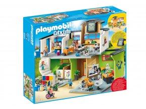 Playmobil 9453 Zařízená školní budova