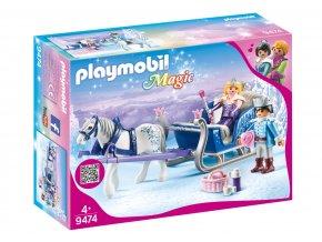 Playmobil 9474 Saně s královským párem