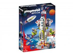 Playmobil 9488 Mars - raketa se startovací rampou