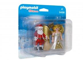 Playmobil 9498 Duo Pack Santa a Anděl