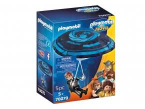 PLAYMOBIL THE MOVIE Rex Dasher mit Fallschirm