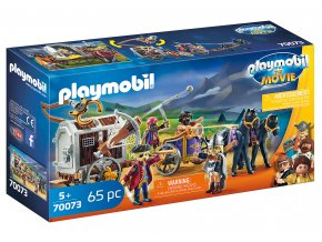 PLAYMOBIL: THE MOVIE Charlie s vězeňským vozem 70073