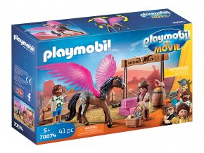 PLAYMOBIL: THE MOVIE Marla, Del a kůň s křídly 70074
