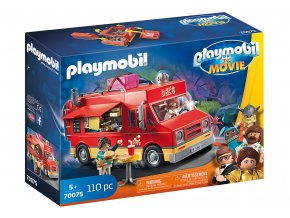 PLAYMOBIL: THE MOVIE Delův Food Truck 70075