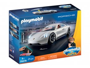 PLAYMOBIL: THE MOVIE Porsche Mission E Rexe Dashera 70078