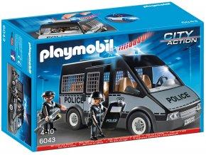 Playmobil 6043 Vůz policejní jednotky se světlem a zvukem