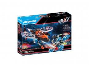 Playmobil 70023 Vesmírní piráti - Helikoptéra