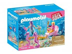 Playmobil 70033 StarterPack Kočár s mořskými koníčky