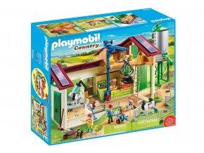 Playmobil 70132 Velká farma se silem