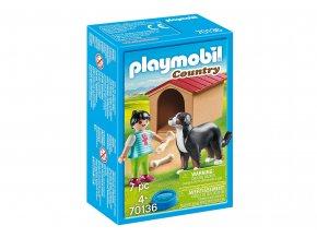 Playmobil 70136 Pes s boudou