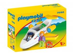 Playmobil 70185 Letadlo s pasažérem