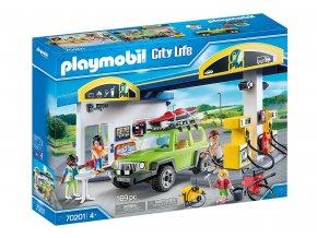 Playmobil 70201 Velká čerpací stanice