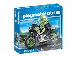 Playmobil 70204 Motorkář
