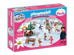 """Playmobil 70260 Adventní kalendář """"Heidin zimní svět"""""""