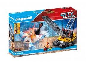 Playmobil 70442 Pásový jeřáb