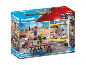 Playmobil 70446 Lešení s řemeslníky