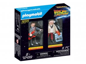 Playmobil 70459 Back to the Future: Marty McFly a Dr. Emmett Brown