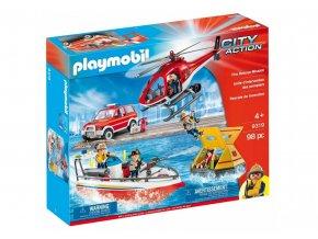 Playmobil 9319 Hasičská záchranná mise