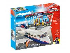 Playmobil 70114 Letiště s letadlem