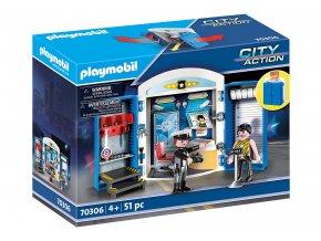 Playmobil 70306 Hrací box - Policejní stanice